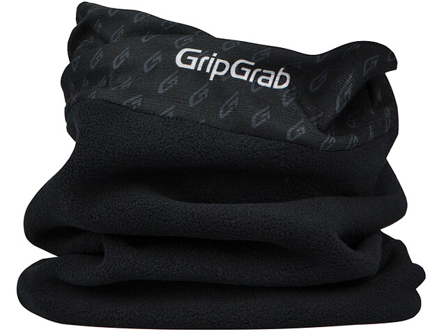 GripGrab Multifunctional Thermal Fleece Neck Warmer Black